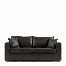 Sofa bed queen size pel espresso