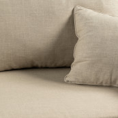 Sofa bed queen size lin flax
