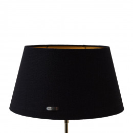 Chic lampshade bl gld 28x38