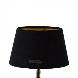 Chic lampshade bl gld 15x20