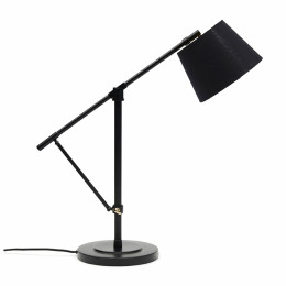 Rockefeller desk lamp black