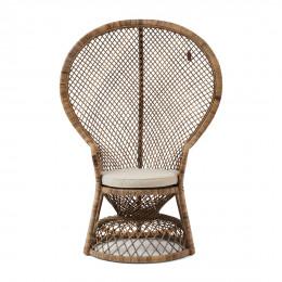 Greenport peacock chair grey