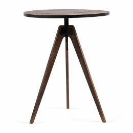 The whyte adjustable bar table 75x105 95 cm