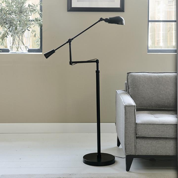 New york floor lamp black