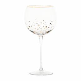 Starry night wine glass