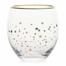 Starry night water glass