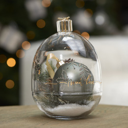 Present with love storage jar