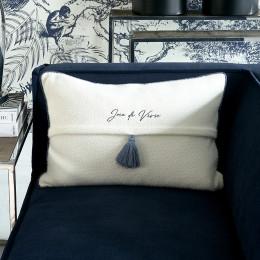 Tassle pillow cover 65x45