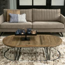 Verona 3 piece coffee table set