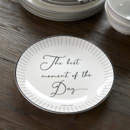 Happy chef breakfast plate