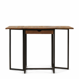 Shelter island folding bar table