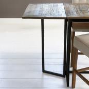 Shelter island folding bar table