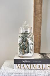Driving home storage jar l