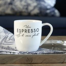 S il vous plait espresso mug