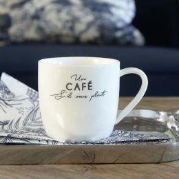 S il vous plait cafe mug