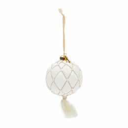Ballad mauve tassel ornament dia 10