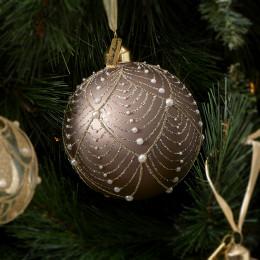 Ballad mauve pearl ornament dia 10