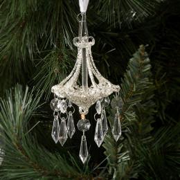 Christmas chandelier ornament