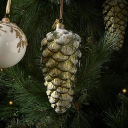 Pretty pinecone ornament l