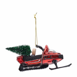 Snowmobile ornament