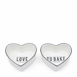 Love to bake bowl 2 pcs
