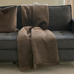 Classic club quilted throw 170x130