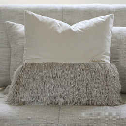Ballad fringe pillow cover 50x50