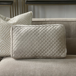 Clas club quilted box pillow 50x30