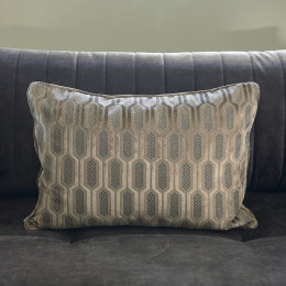 Club pillow cover walnut 65x45