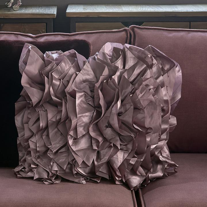 Ballad ruffle pillow cover 50x50