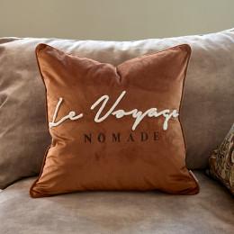 Le voyage nomade velvet pc 50x50