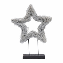 Lovely christmas star on stand