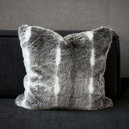 Capricorn fur pillow cover 50x50