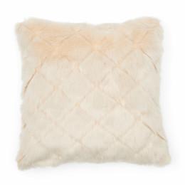 Diamond fur pillow cover 50x50