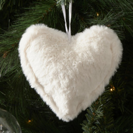 Warm wishes heart ornament