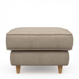 Kendall hocker 70x70 cotton natural