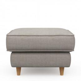 Kendall hocker 70x70 cotton stone