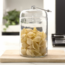 Knotted storage jar l