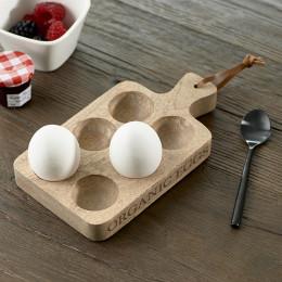 Organic eggs egg holder