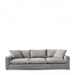 Residenza sofa xl steel grey