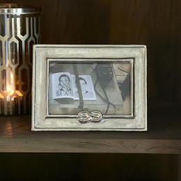 Lovers knot photo frame 15x10