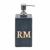 Magic marble soap dispenser black