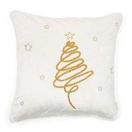 Merry christmas swirl pc 50x50