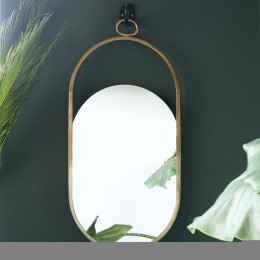 Monaco mirror gold 42x84cm