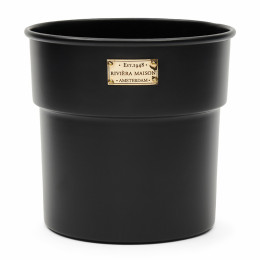 City loft flower pot black s