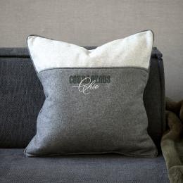 Courageous felt pillow cover 50x50