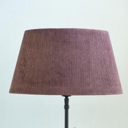 Lovely rib velvet lampsh mau 28x38