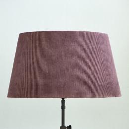 Lovely rib velvet lampsh mau 35x45