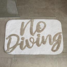 Bath mat no diving