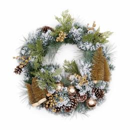 Wonderful christmas wreath 70cm